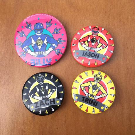 POWER RANGERS Button/パワーレンジャー 缶バッジ/170819-9