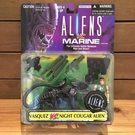 ALIENS Vasquez VS Night Cougar Alien Figure/エイリアン ヴァスケス VS ナイトクーガーエイリアン フィギュア/190609-4