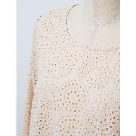 サークルカットワーク刺繍*チュニック (11FAS016)