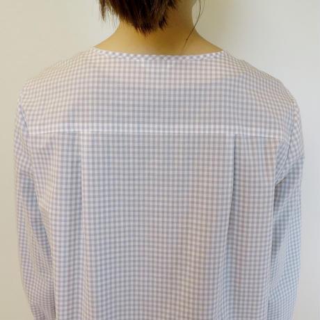 ギンガムテープ刺繍*チュニック (11FAS007)