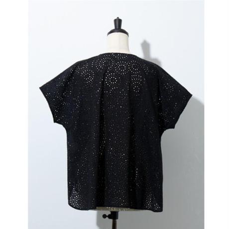 サークルカットワーク刺繍*ブラウス(11FB006)