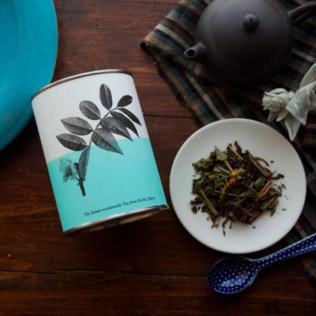 スタッキングカップと伝統茶(リーフ20g・缶)のギフトセット