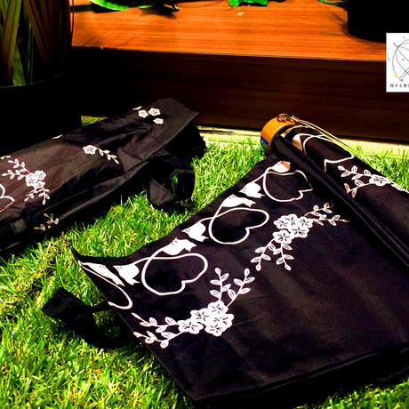 【折 日傘】傘専門店 通販 東京 折りたたみ傘 日傘 雨傘 晴雨兼用 遮光 遮熱 旅傘【清涼効果 Heart & Cat】