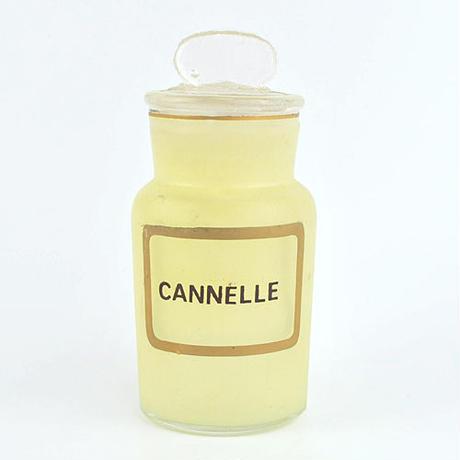 【French Vintage】Romantic Spice bottle  ロマンチックなスパイス入れ シナモン found in San Francisco
