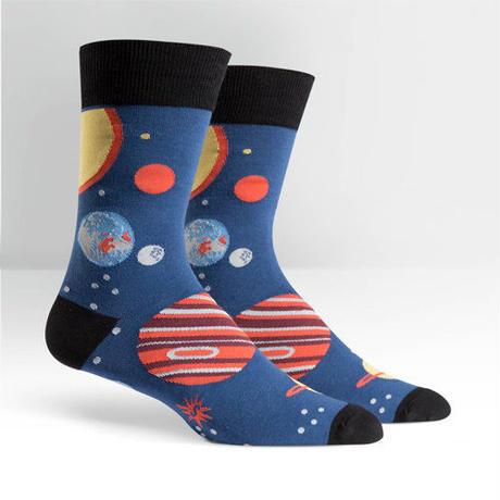 "【Sock it to me】 ""Planets"" メンズソックス「惑星」"