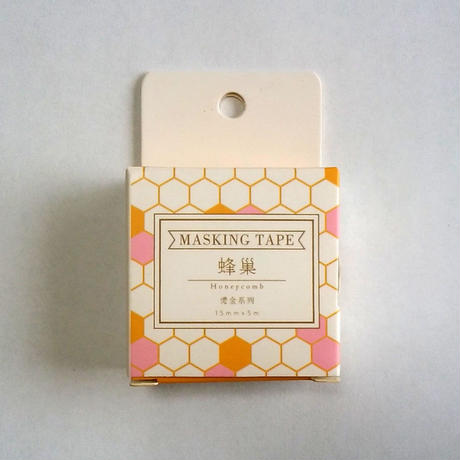 中国マスキングテープ「蜂巣」