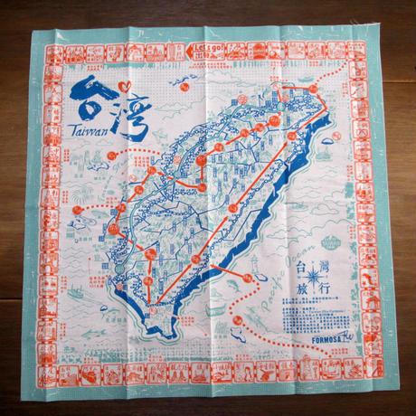 布すごろく「台湾旅行地図」