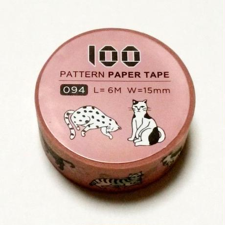 台湾マスキングテープ「ネコ」