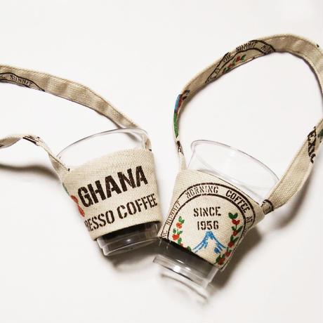 ドリンクホルダー「コーヒー麻袋」