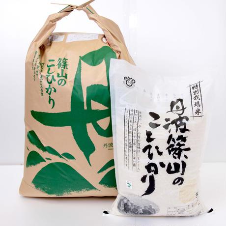 丹波篠山のこしひかり 特別栽培米 玄米 25㎏