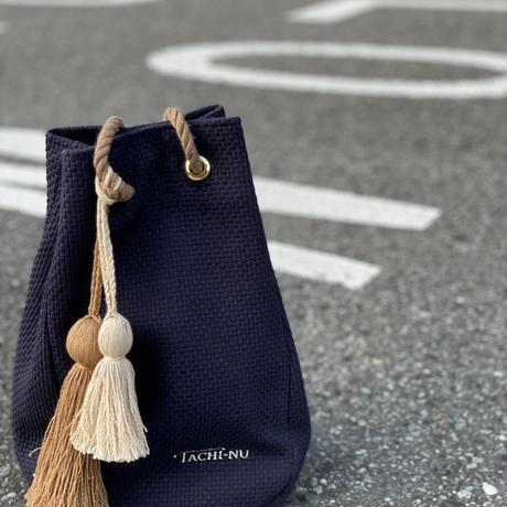 STRING ネイビー     ※タッセルチャーム2個付