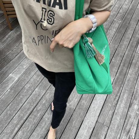 新色(限定色)BASIC L GREEN ※ツイン&単色チャーム付き