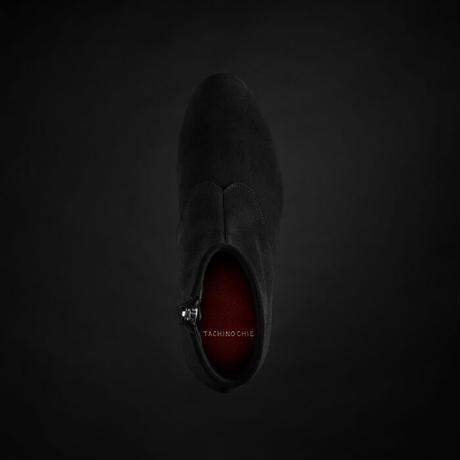women's ZIP UP BOOTS black [size sample]