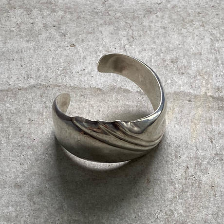 vintage silver bangle 6