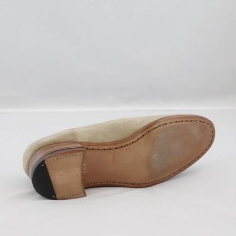 women's NAKED  nubuck  beige 23.5cm [sample sale]