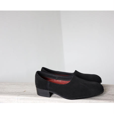 ⚪︎ reserving ⚪︎ women NAKED  nubuck  black 22.5cm [sample sale]