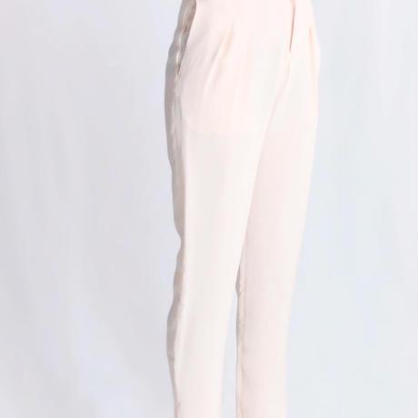 SILK LOUNGE PANTS pink