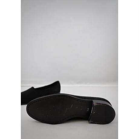 women's NAKED  nubuck  black 24cm  [sample sale]