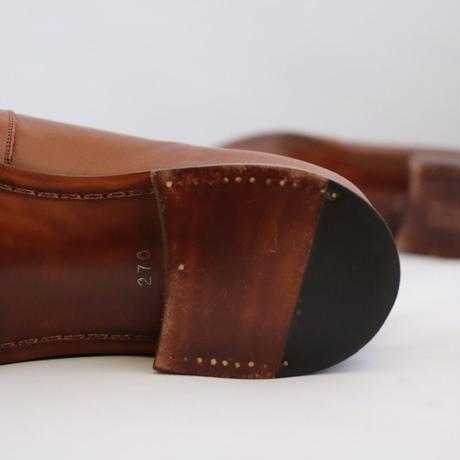 men's OCULI brown  27cm[sample sale]
