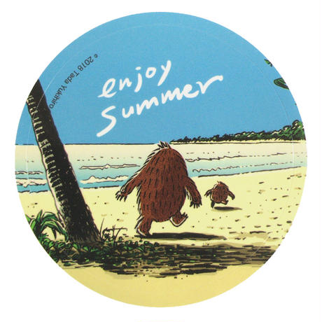 enjoy summer ステッカー