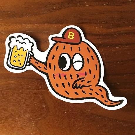 Beer BakeMoshステッカー