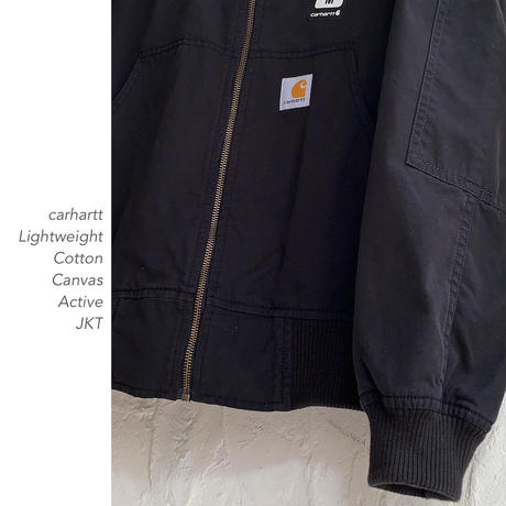 carhartt Lightweight Cotton CanvasアクティブJKT