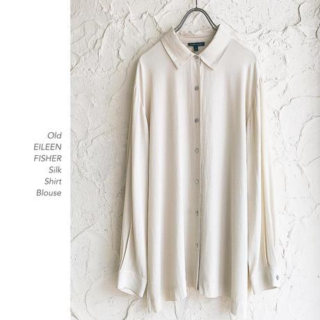 Old EILEEN FISHERシルクシャツ
