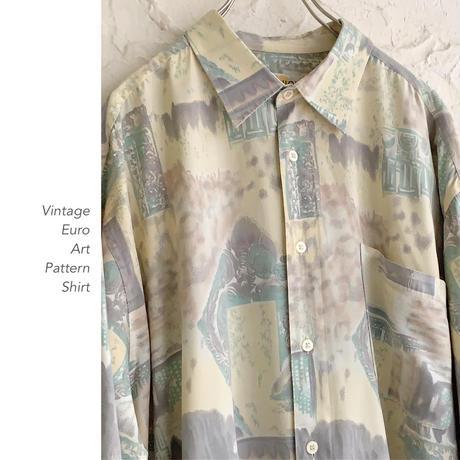 Euro Vintage Patternシャツ