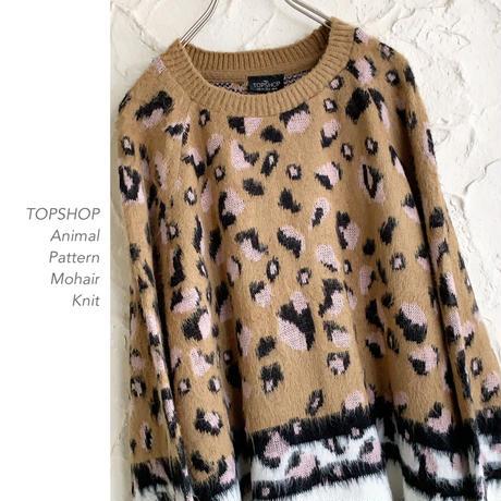 TOPSHOP Animal Pattern ニット