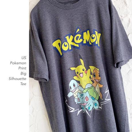 Old US Pokemon Print Tee
