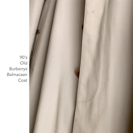 90's Old Burberrys バルマカンコート