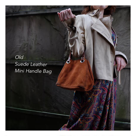 Old Suede Leather ミニBag