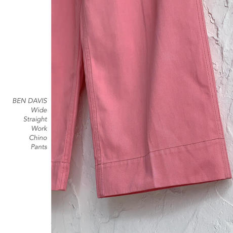 BEN DAVIS Wide Chino パンツ