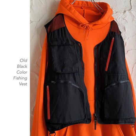 Black and Orange フィッシングベスト