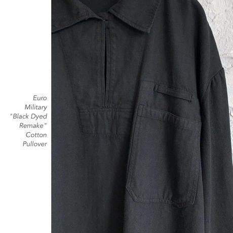 "Euro Military ""Black Dyed""プルオーバー"