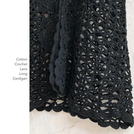 Crochet Lace Longカーディガン