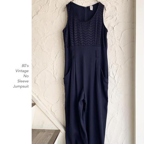 Vintage No Sleeveジャンプスーツ