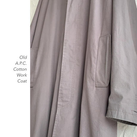 Old A.P.C. Cottonコート