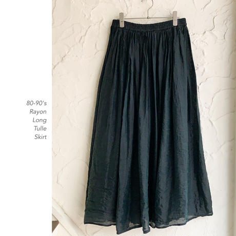 Old See-Through Longスカート