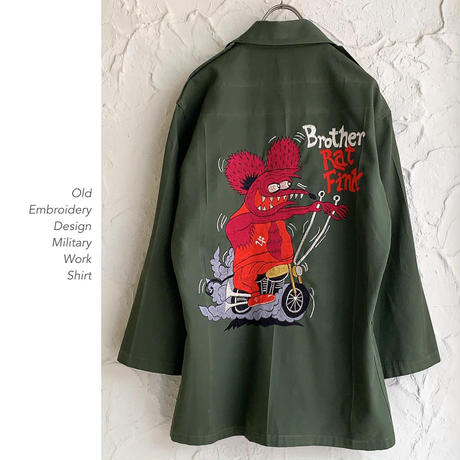 Embroidery Designミリタリーシャツ