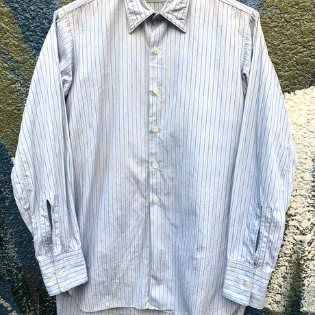 30's〜40's French Cotton Stripe Shirts