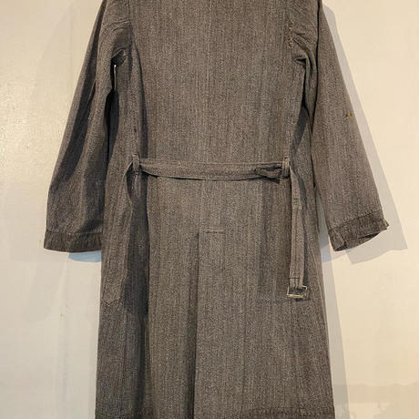 40's〜50's French Salt&Pepper Atelier Coat
