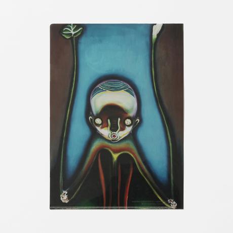 """クリアファイル 加藤泉《Untitled》/ Izumi Kato """"Untitled"""" Clear Plastic Folder"""