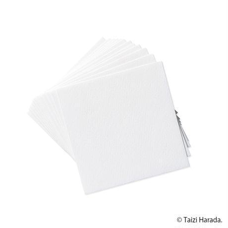 【原田泰治】メッセージカード【黒】