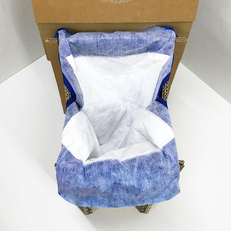 避難所用トイレ(使い捨て紙バッグ10個付)◆送料込◆