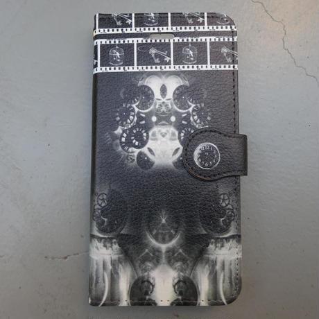 回転、暗転。/手帳型iphoneケース