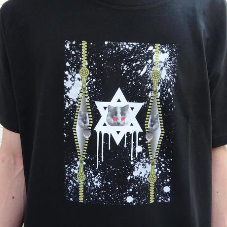 ネコしゅうきょうTシャツ
