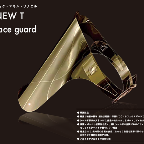 NEW  T  Face guard