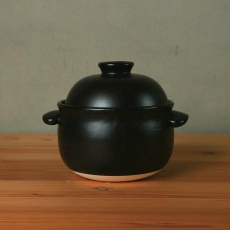 ごはん鍋  2合(白/黒)