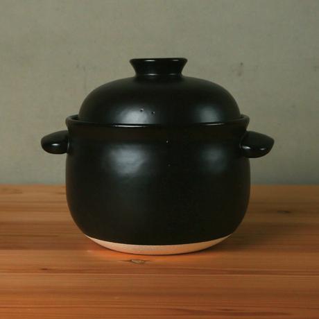 ごはん鍋  5合(白/黒)